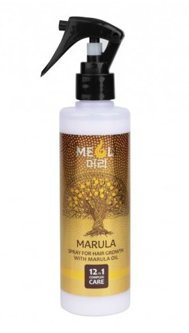 Спрей для роста волос с маслом Марулы MEOLI: фото
